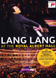 Lang Lang - At The Royal Albert Hall, DVD