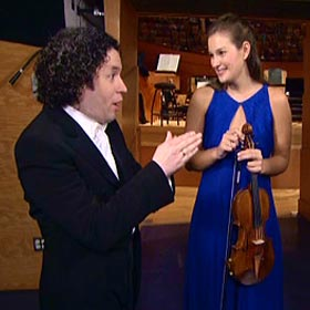 Dudamel conducts Mendelsohn