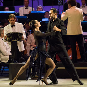 Tango Under the Stars - LA Phil & Dudamel & Romero at the Hollywood Bowl
